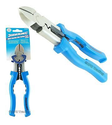 Lineman Wire Cutters | Multi Function Side Cutting Plier Wire Cutter Electricians Tool