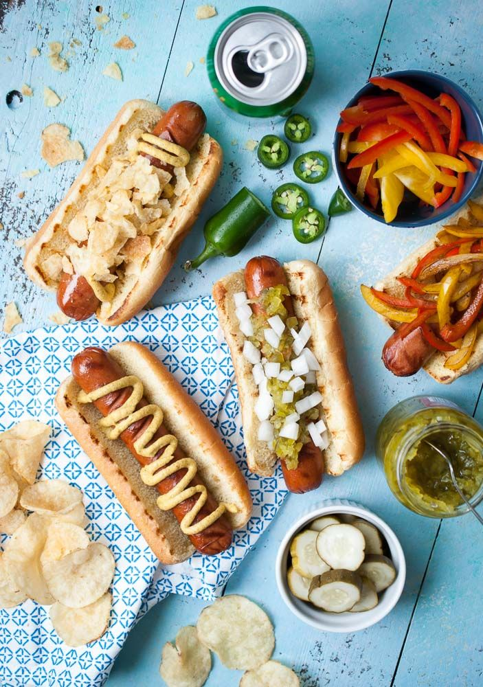 Spring BBQ Hot Dog Bar | Life is but a Dish