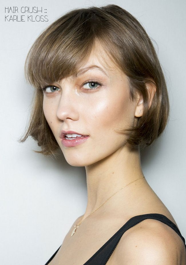 Karlie Klosss Bob Makes Me Want To Cut My Hair Models