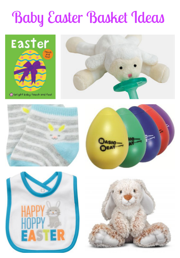 Great ideas easter basket ideas for a baby super cheap easter basket ideas for a baby and toddler no candy included healthy fun books and items to help your babies learn through their easter baskets negle Image collections