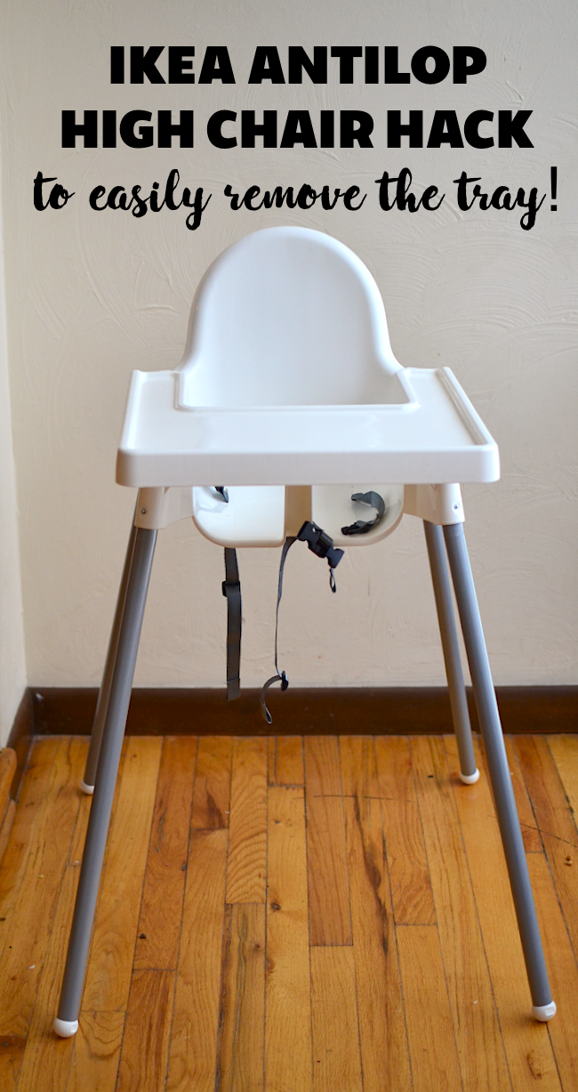 How To Easily Remove The Tray From Your Ikea Antilop High Chair With A Simple Hack In 2020 Ikea High Chair Antilop High Chair Toddler High Chair