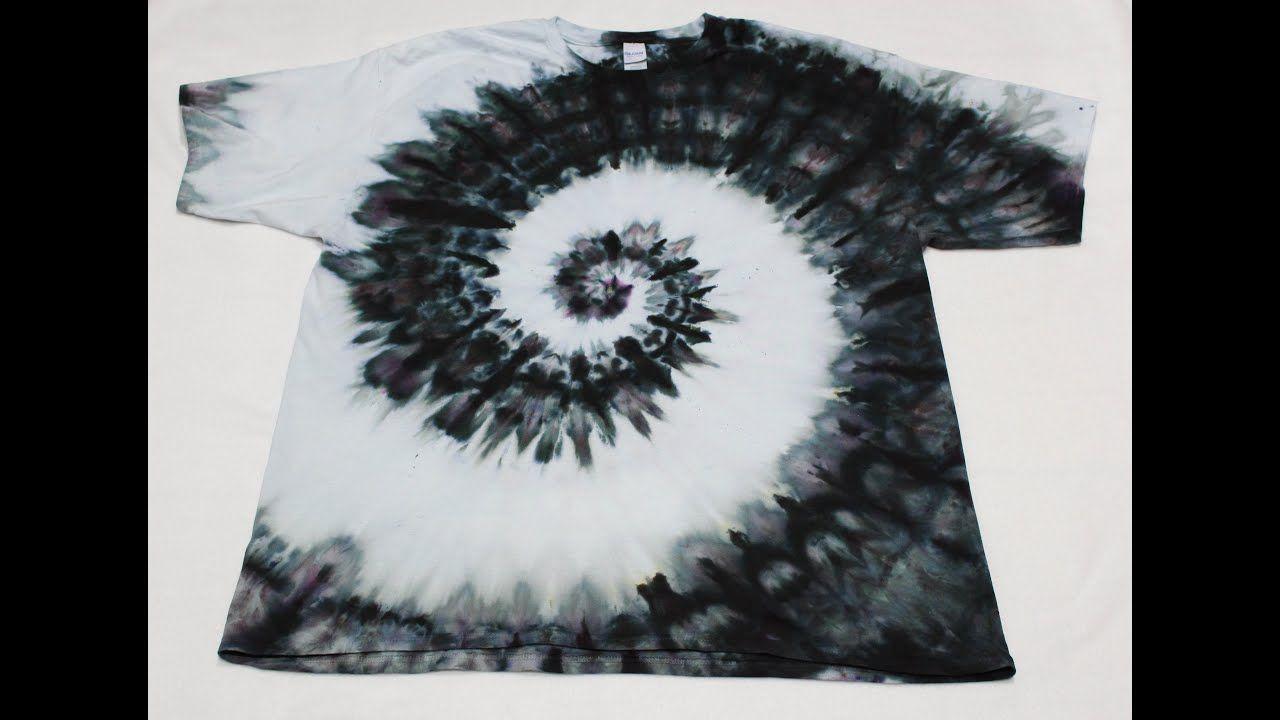 How To Make A Single Color Ice Dye Tie Dye Spiral T Shirt Tie Dye Patterns Diy Diy Tie Dye Shirts Tie Dye Diy [ 720 x 1280 Pixel ]
