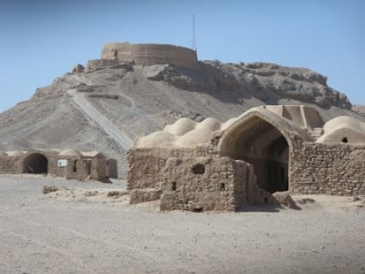Persiana-Travels in Iran Towers of Silence Yazd
