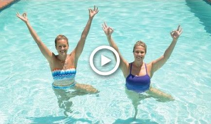 4 water yoga poses for a tight core  class fitsugar