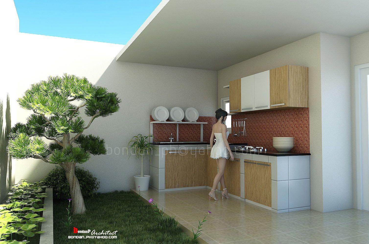 20 Desain Dapur Terbuka Di Halaman Belakang Rumah Halaman Belakang