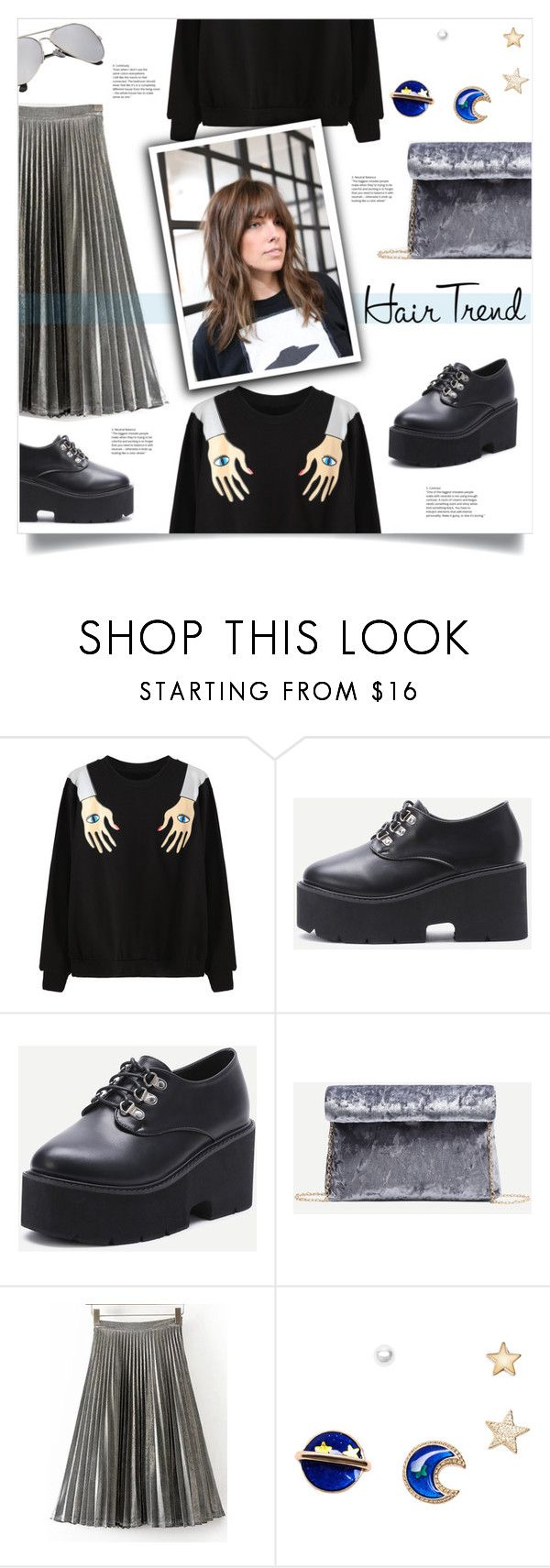 """Matchy-Matchy Hair"" by mahafromkailash ❤ liked on Polyvore featuring WithChic"