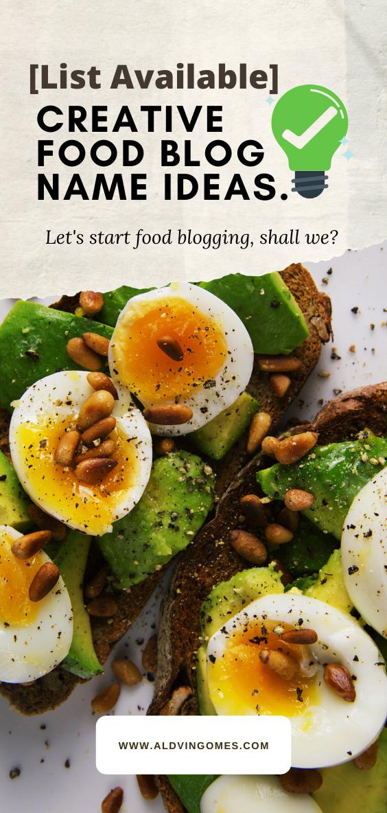 Food Blog Names 300 Creative Names For Food Blogging Healthy Healthy Recipes Keto Recipes Easy