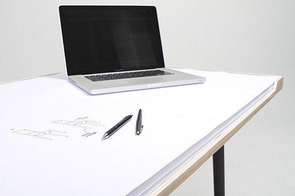 My Desk's concept by Miguel Mestre