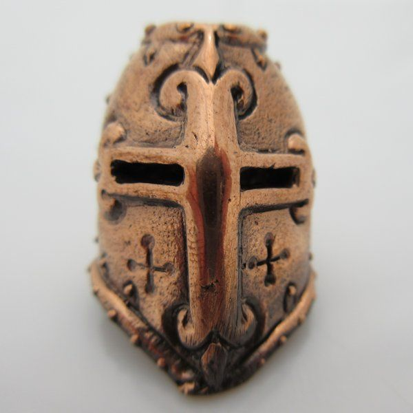 Crusader Paracord Bead in Copper by Lion ARMory