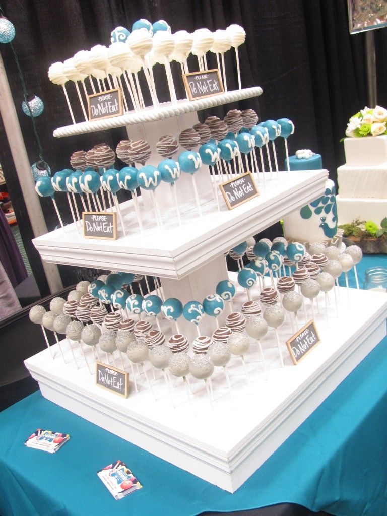 Tiered Wedding Cake Pop Stand At Nashvillesweets