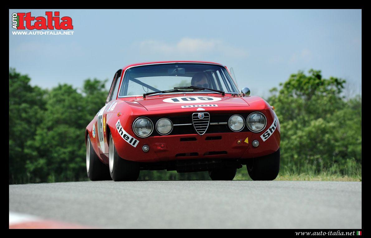 Alfa Romeo GTA at Balocco