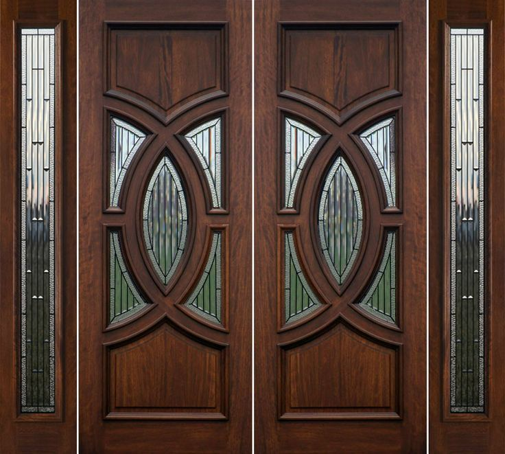 Double Front Doors For Homes Double Wooden Front Doors