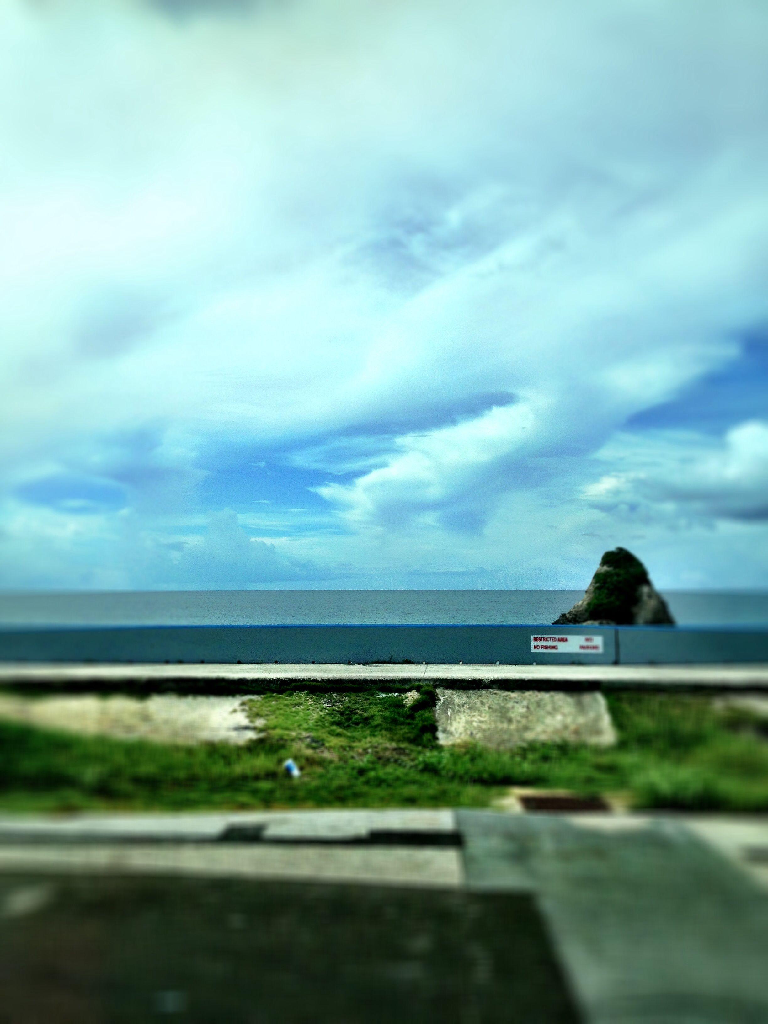 Miles of ocean