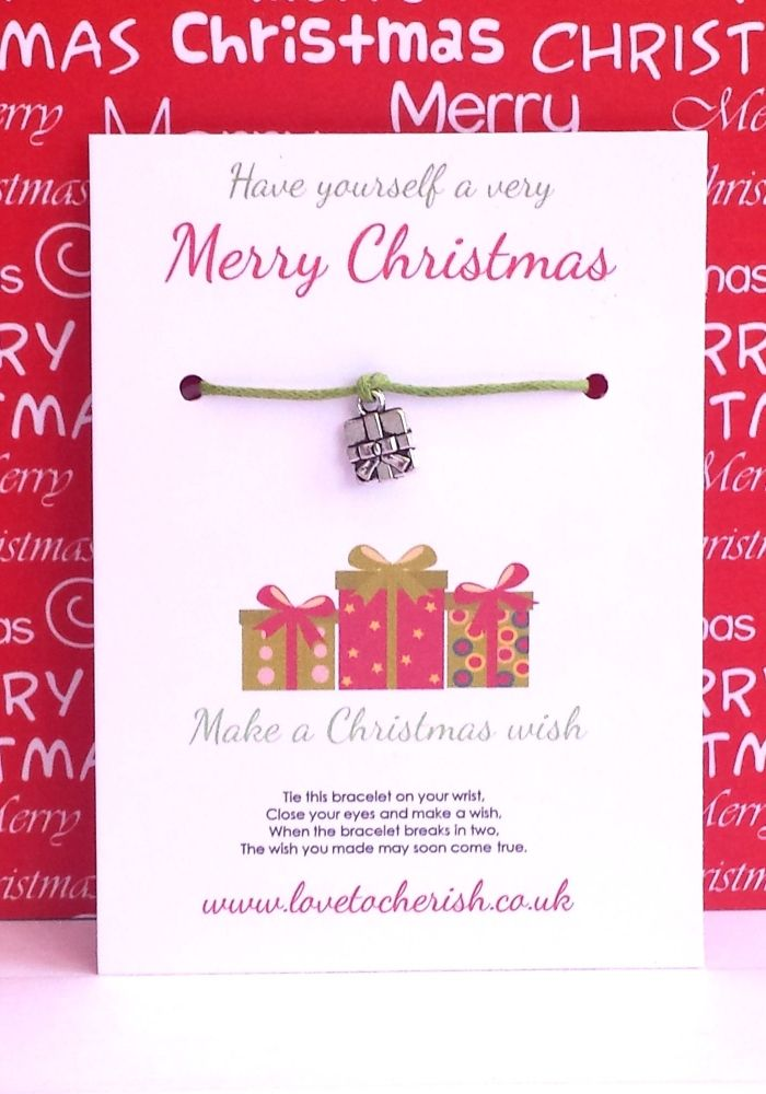 have yourself a very merry christmas wish bracelet - Have Yourself A Very Merry Christmas