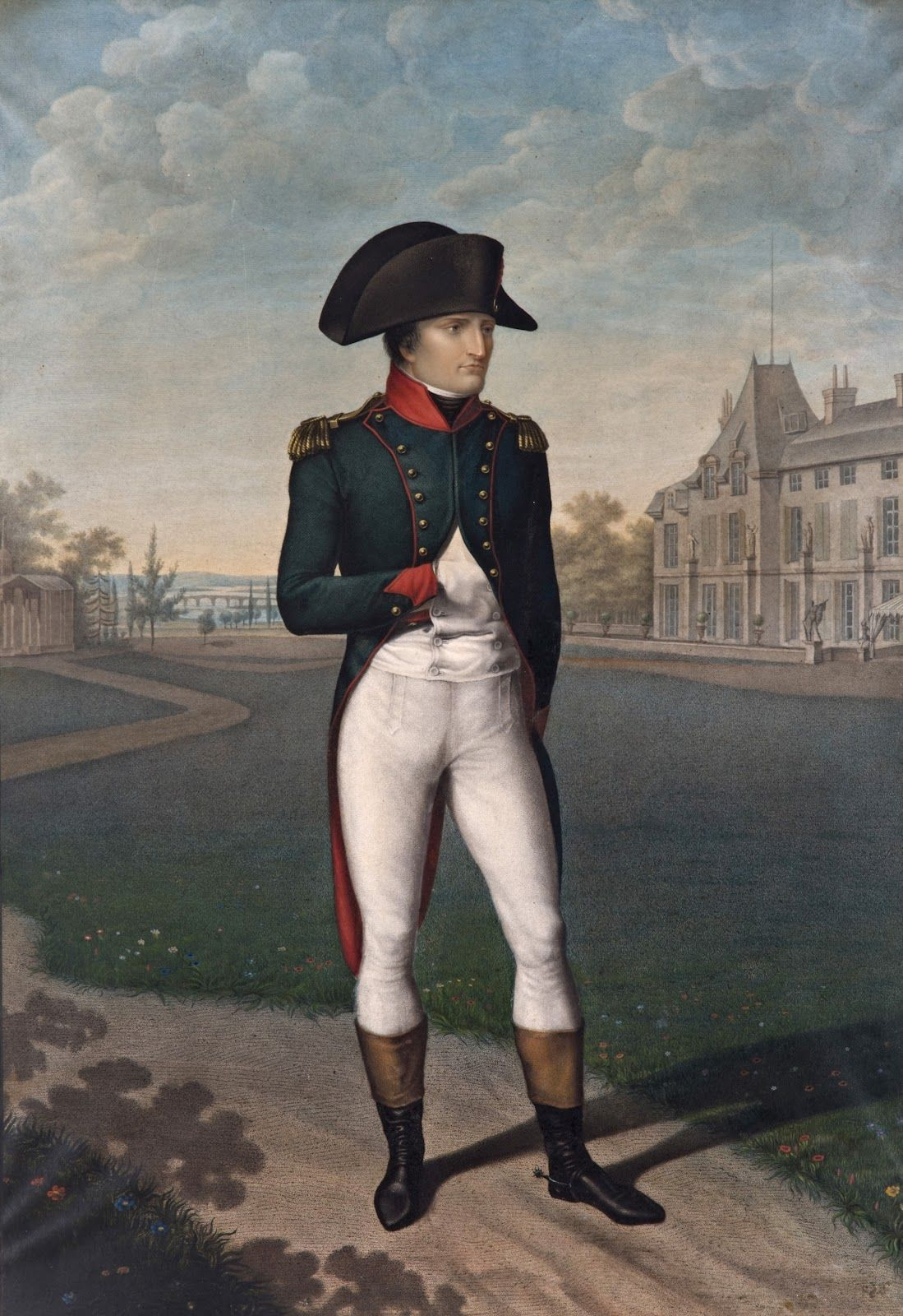 jean baptiste isabey napoleon bonaparte first consul in the jean baptiste isabey napoleon bonaparte first consul in the gardens of malmaison