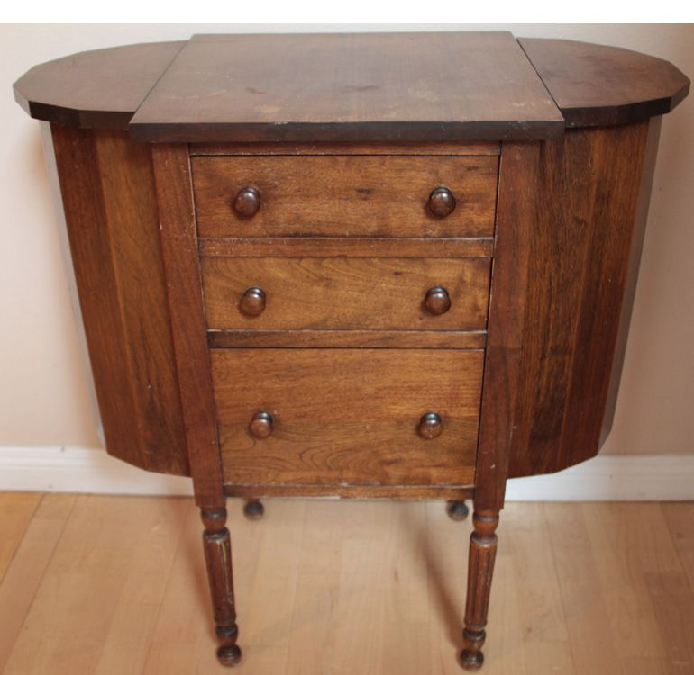 antique sewing cabinet sewing cabinet pinterest