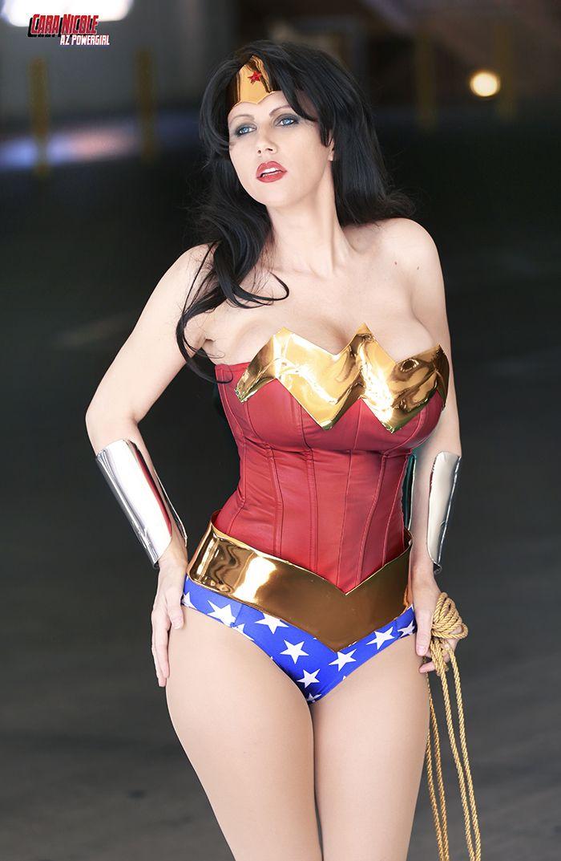 Female wonder woman costume-7464