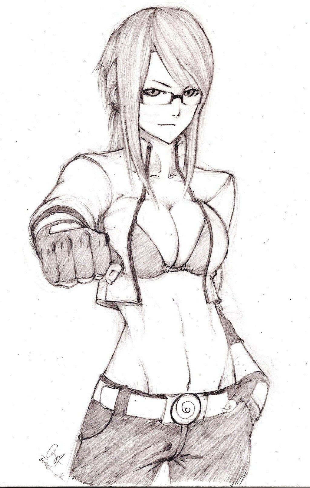 Karin From Naruto Fan Art Karin Naruto Shippuden By