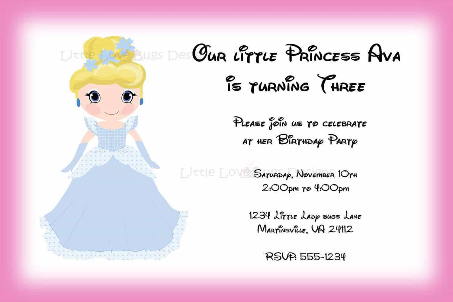 nice The Birthday Invitation Maker Free Templates Check more at http ...