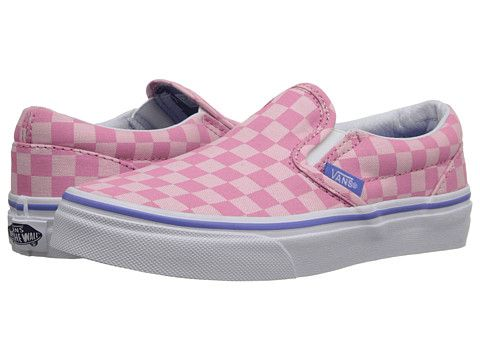35ddc8bc Vans Kids Classic Slip-On (Little Kid/Big Kid) | Girl's - Slap Shoes ...