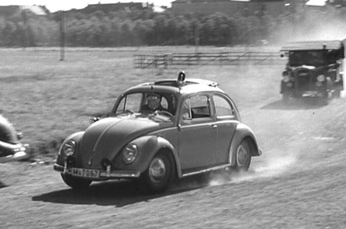 1961 VW Beetle Police