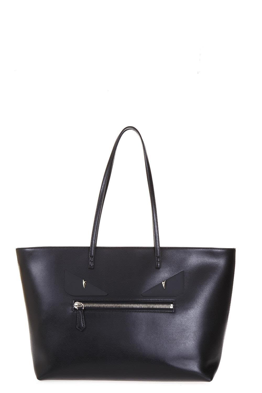 3b51a1405a6b FENDI FENDI EYES ROLL LEATHER TOTE.  fendi  bags  leather  hand bags  tote