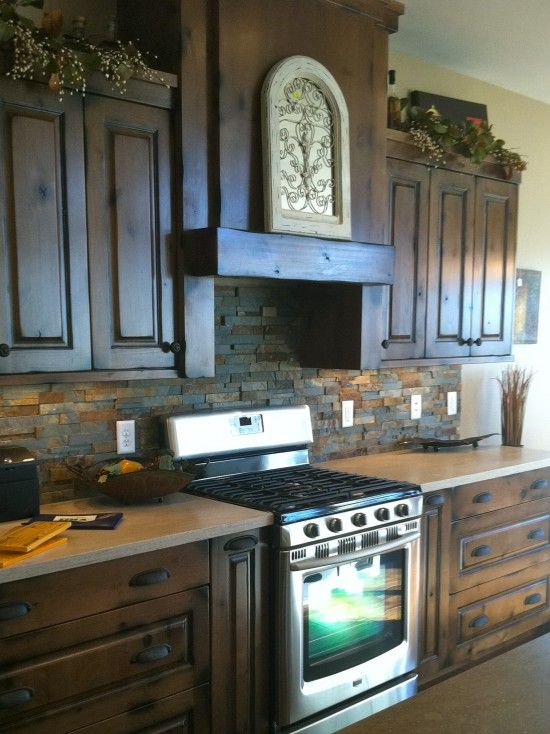 Kitchen Backsplash Ideas Maple Cabinets