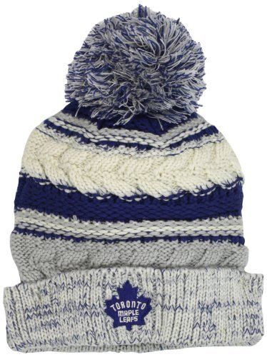 002fa89e342 NHL Toronto Maple Leafs Women s CCM Cuffed Knit Hat With Pom