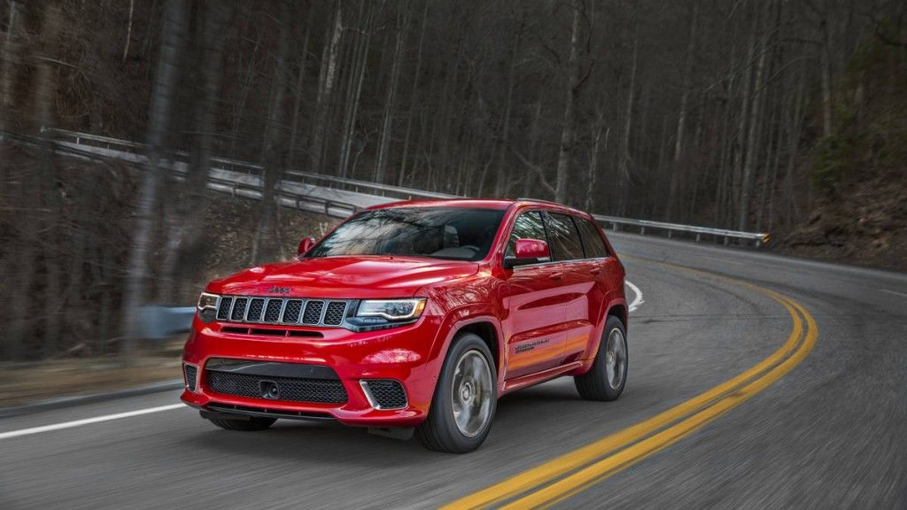 Most Powerful Suv Is The Jeep Grand Cherokee Trackhawk Jeep
