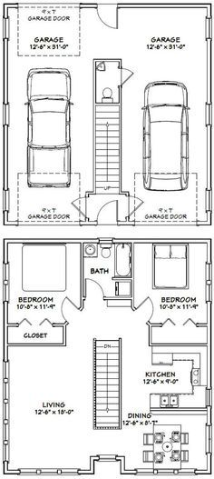 PDF House Plans, Garage Plans, U0026 Shed Plans. Where The Stairs R We Could  Make Some Cupboard Storage.