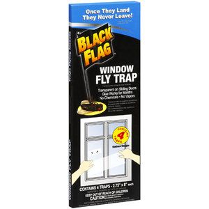 Black Flag Window Fly Trap, 4 ct; works for those pesky ...