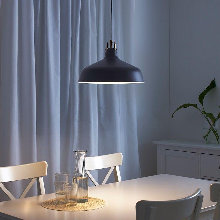RANARP Taklampa, svart, 23 cm IKEA
