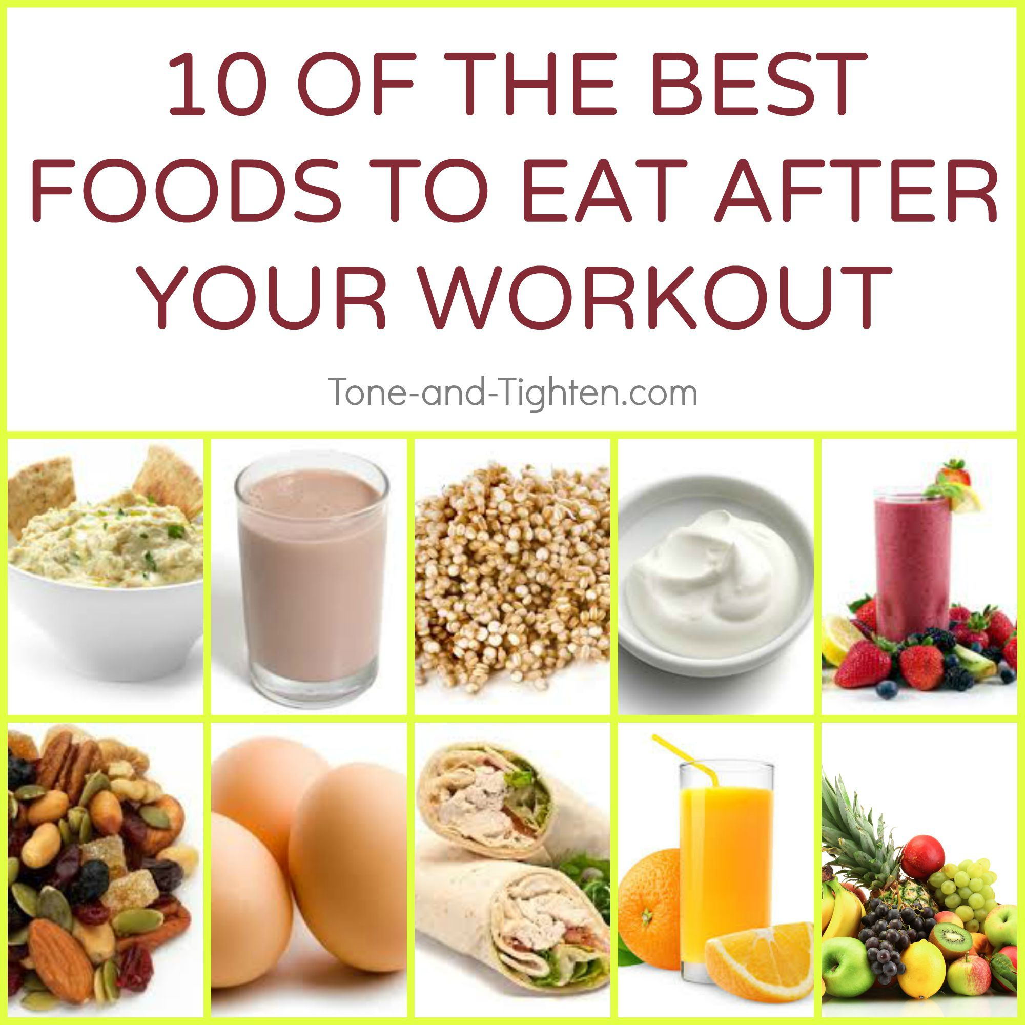 Best Food To Eat After A Workout Workout Food Good Foods To Eat Foods To Eat