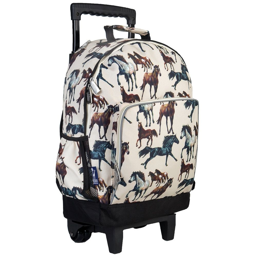 Horse Dreams High Roller Rolling Backpack Bonkersforbags