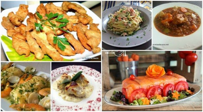 menú semanal 6, ideas para menus