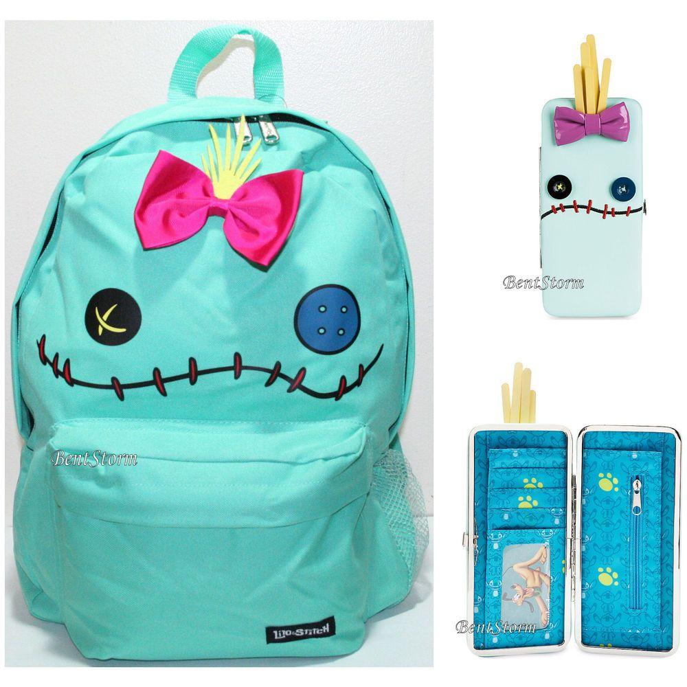 Disney Loungefly Lilo & Stitch Scrump Backpack School Book Bag   ...