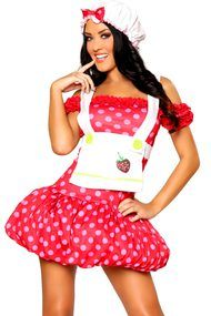 Strawberry Sweetheart Costume