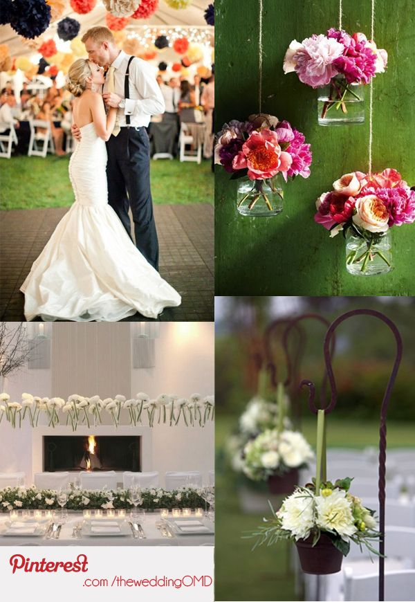 Wedding Decorations On Pinterest