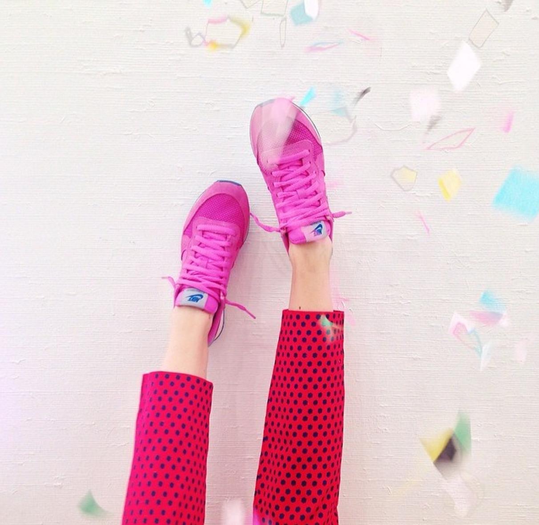 pink kicks!