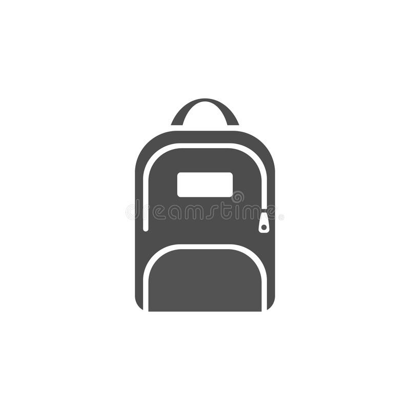 Dark Backpack Icon On A White Background Ad Backpack Dark Icon Background White Ad Icon Jordan Logo Backpacks