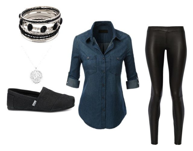 """""""Casual Fun"""" by jem91 on Polyvore featuring The Row and TOMS"""