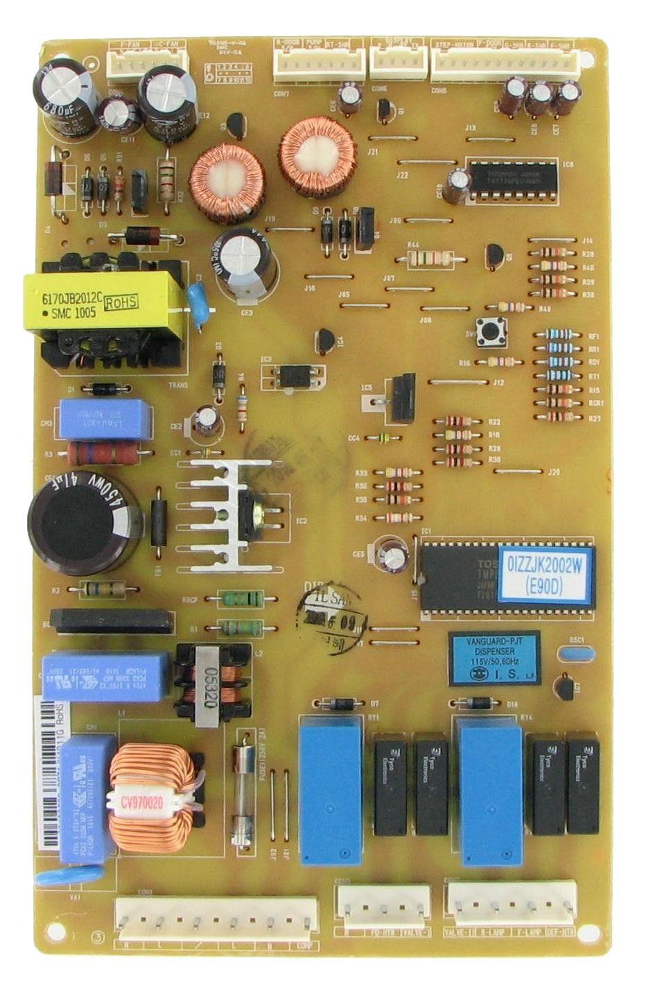 Lg 6871jk1011g Refrigeration Electronic Control Board Refrigerator Lg Refrigerator Models Boards