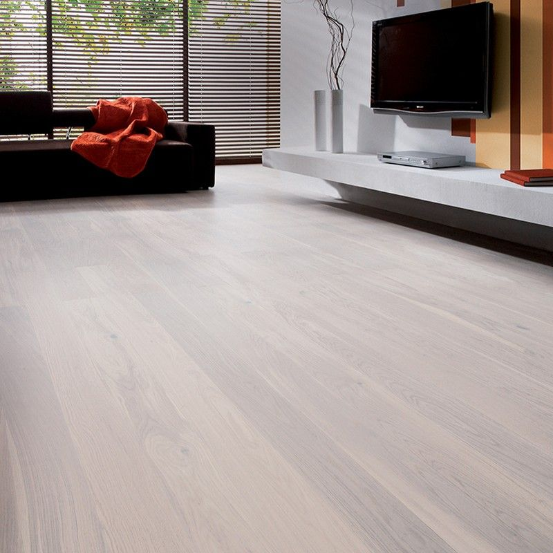 barlinek pure engineered oak flooring white truffle grande
