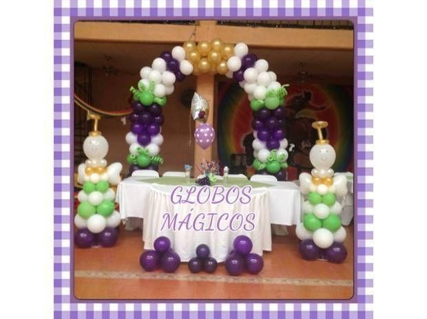 Decoraciones de primera comunion en globos buscar con - Decoracion fiesta comunion ...