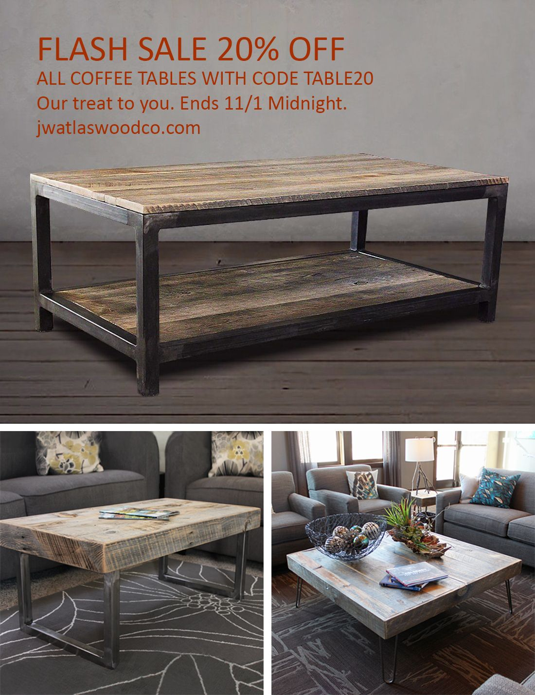 Coffee Table Ideas And Custom Handcrafted Coffee Tables To Fit