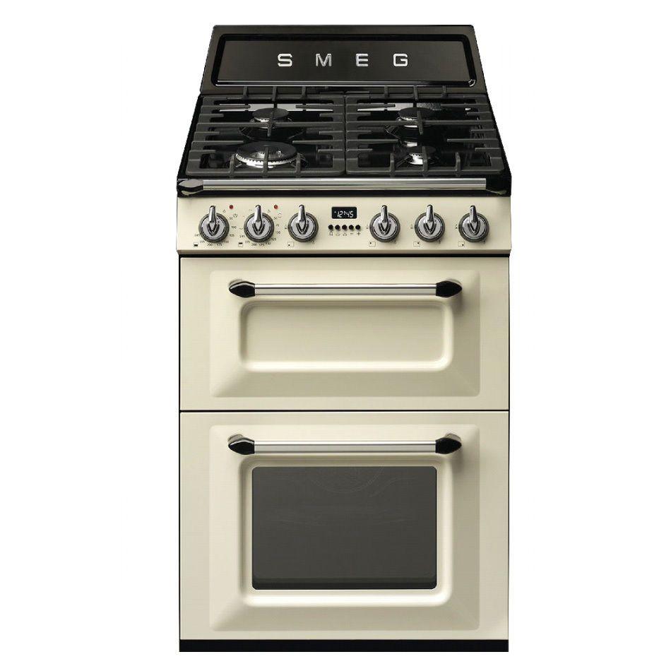 Used Smeg TR62P 60cm Dual Fuel Cooker (JUB-5387) RRP £1099