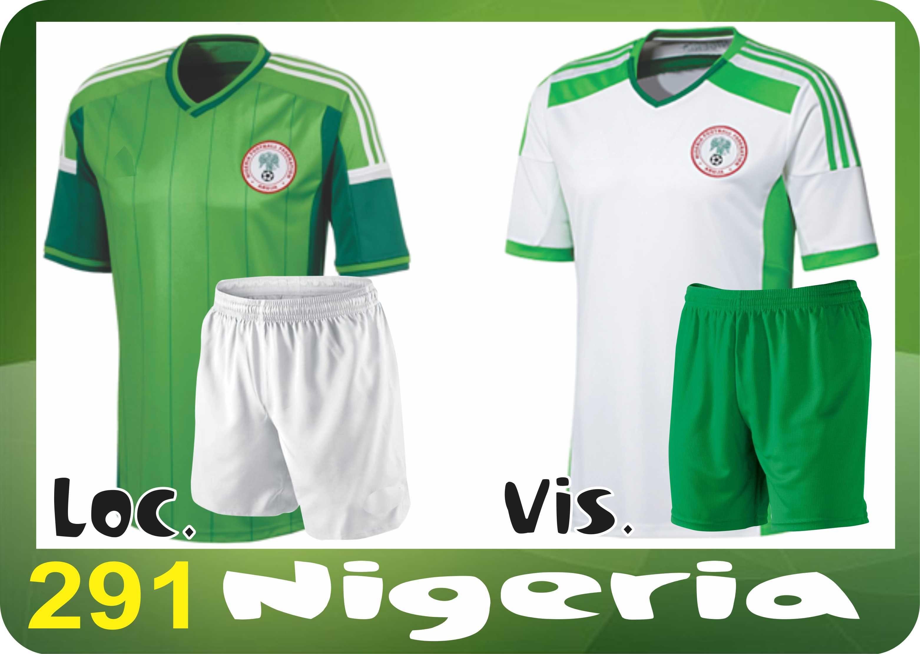 UNIFORME SOCCER DRI FIT. Mod. 291 NIGERIA. Encuentra este Pin y muchos más  en Uniformes Futbol ... 63e2040591d