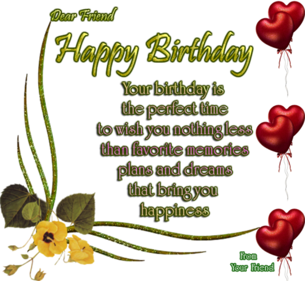 Beautiful Nice Birthday English Sms