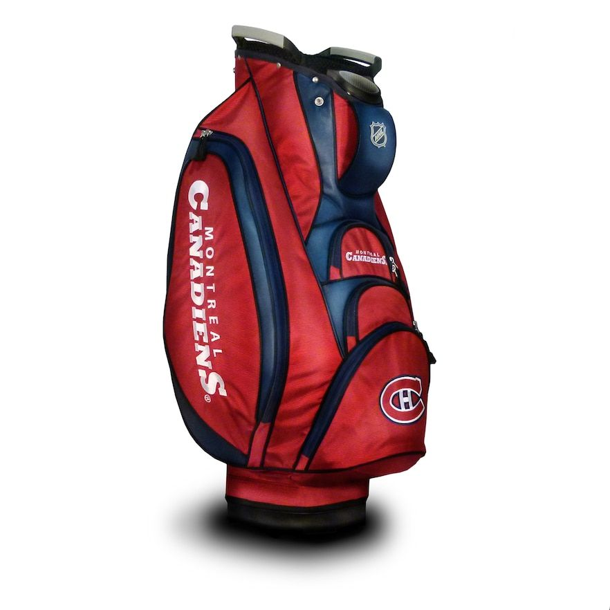 Team Golf Montreal Canadiens Victory Cart Bag Golf bags