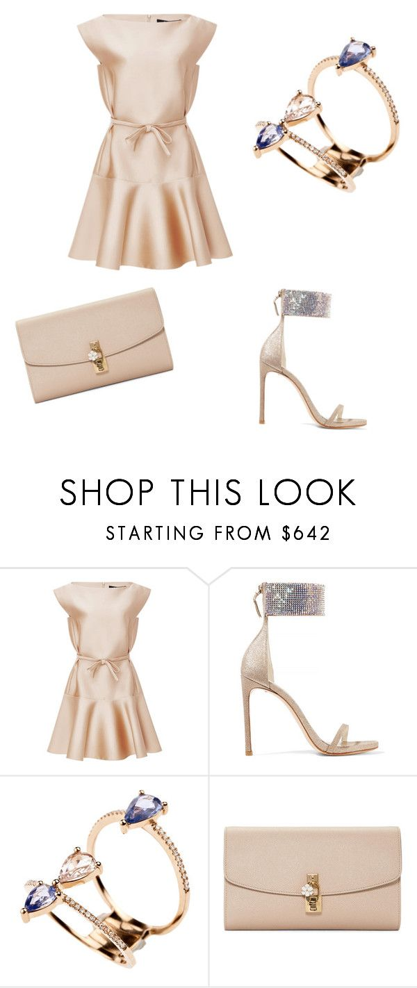 """church day"" by roseygem ❤ liked on Polyvore featuring Paule Ka, Stuart Weitzman and Dolce&Gabbana"